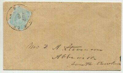 11/3/1862 KNOXVILLE ATTRACTIVE pair CSA #6 Mrs  M  A  E