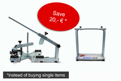 Motorcycle Tire Changer EVOX including Wheel Balancer - max2h.com