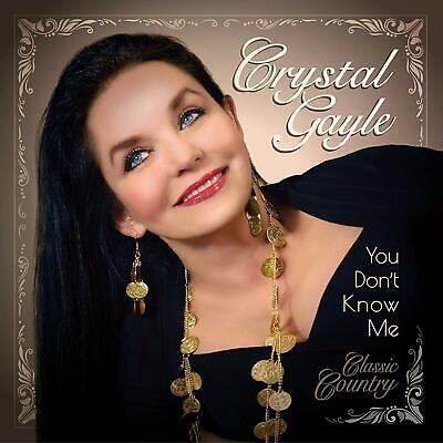 Crystal Gayle You Don't Know Me CD ALBUM  NEW(4THSEP)