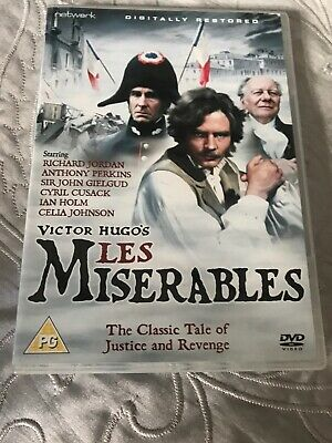 VICTOR HUGO LES Miserables Hurst and Blackett 6th English
