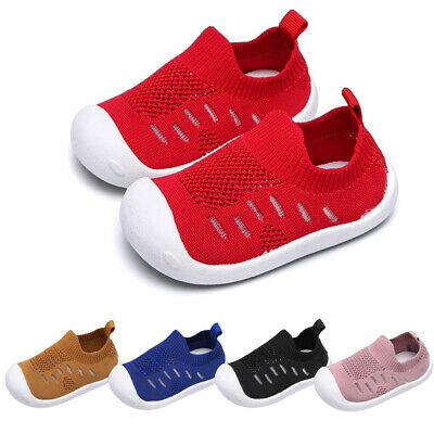 Toddler Infant Kids Baby Girls Boys Candy Color Mesh Sport Running Shoes DZ