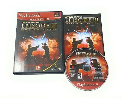 Star Wars: Episode III 3 Revenge of the Sith for PS2 Complete CIB