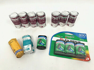 Lot (13) Fujifilm Fuji Fujicolor NPH 400 220 NPS 160 2002/4 Expired Film Print