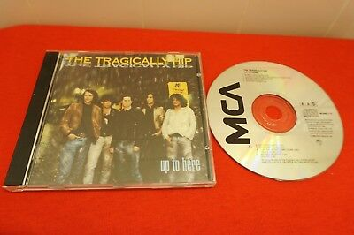 Up to Here by The Tragically Hip (CD, Sep-1989, MCA Records)