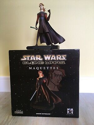 Star Wars Gentle Giant Anakin Skywalker Clone Wars Limited Edn Maquette Statue