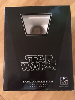 Star Wars Gentle Giant Lando Calrissian Empire Strikes Back Edition Bust - MISB