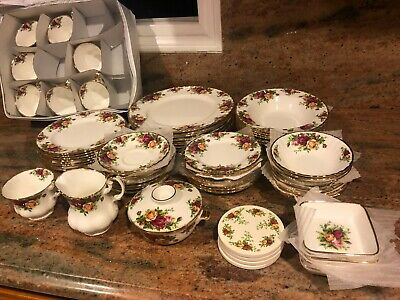 Royal Albert ' Old Country Roses '  Tea Set And Tableware - English Bone China