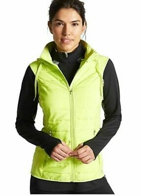 M*S Ladies Women's Active Sports Running Jogging Hooded Gilet Visibility Jacket