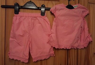 Girls Two Piece Outfit Age 9 Months Vertbaudet