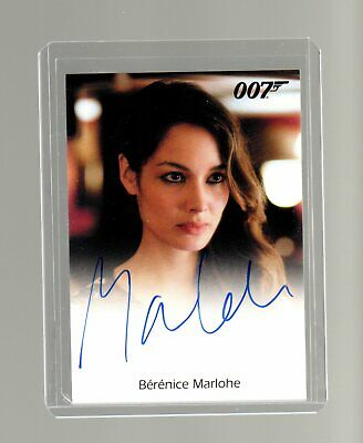 James Bond Archives Final Edition  Berenice Marlohe Autographed card