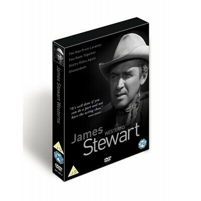 The James Stewart Westerns Collection Box Set DVD
