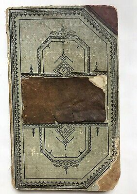 "Antique Scrapbook c. 1918 WWI Era, Poems Articles Recipes Etc. 7x12"" #H"