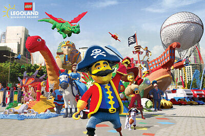 💖 Legoland Windsor Resort Ticket Sunday 20th October 2019 Post or Email 20.10