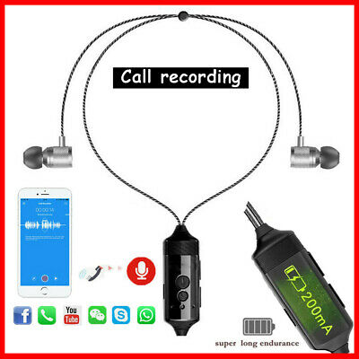 PR200 BLUETOOTH CELL Phone Call Recording Device Android