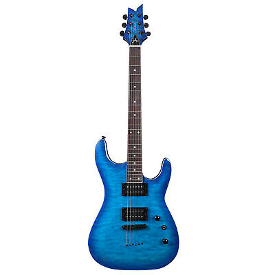 Artist GNOSIS6 Blue Cloud Super ST Style Electric Guitar  - New