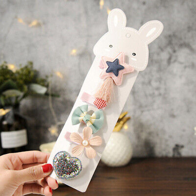 Kids Girls Sweet Hairpin Headdress Hair Clip Barrette Cute Accessories Flower