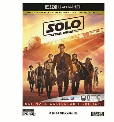 Solo: A Star Wars Story New 4K Bluray