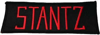 """Ghostbusters Movie Stantz Uniform Name Tag 5"""" Wide Embroidered Iron on Patch"""