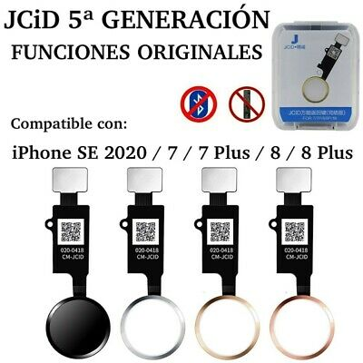 Boton Home FUNCIONES ORIGINALES para iPhone 7 / 7 Plus 8 / 8 Plus V.3