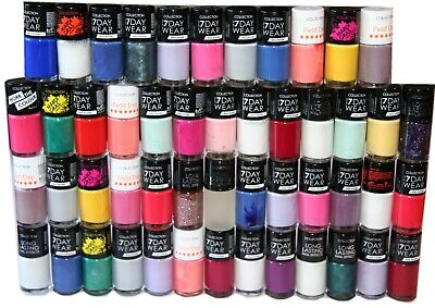 100 x Collection Work the Colour, 7 Day Nail Polish  | RRP £300+ | Wholesale