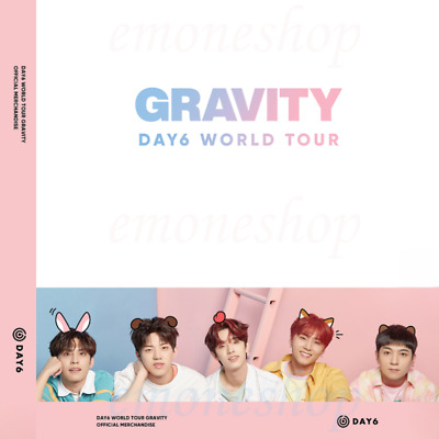 KPOP DAY6 [ GRAVITY in SEOUL ] WORLD TOUR OFFICIAL MD for MY DAY + Tracking No.
