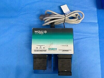 XOMED 18-90100P Wizard Plus Micro Debrider Footswitch