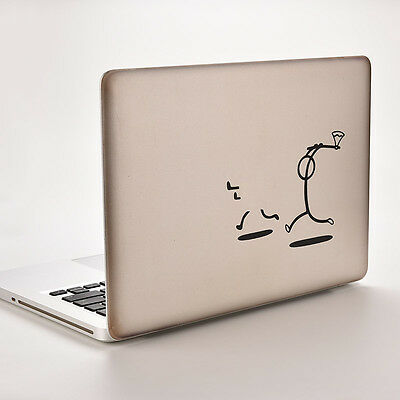Vinyl Decal Sticker Skin for Laptop MacBook Air/Pro 12/13/15 Killer Stickman  S