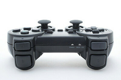 Wireless Controller For Ps2 Playstation 2 Black Dual Shock Joypad Gamepad