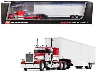 1/64 DCP BY FG #60-0515 Red & White Seminole 389 Peterbilt W