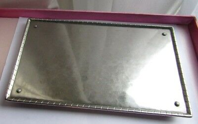 Keswick Firth Staybrite Ksia industrial Art school J352 Tray