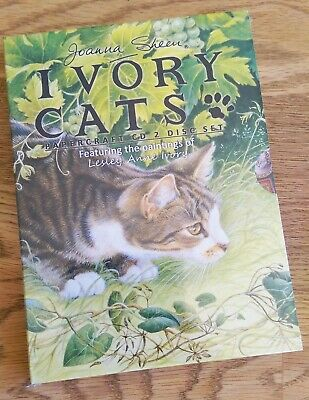 Joanna Sheen Ivory Cats Double Disc 2 CD-ROM Papercraft Brand New