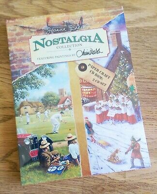 Joanna Sheen Nostalgia Collection Double Disc 2 CD-ROM Papercraft Brand New