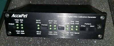 Accupel DVG-5000 - New condition