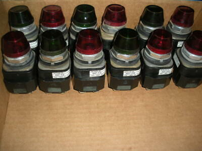 Allen Bradley pilot light indicator 240vac 800T-P26 13 available 30.5mm colors