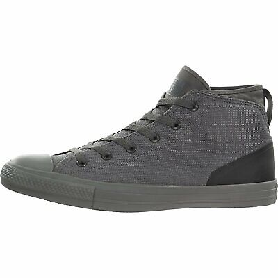 Converse Unisex Chuck Taylor All Star Syde Street Mid Sneaker…, Grey, Size 5.5