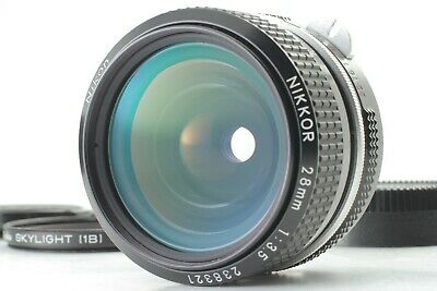 【N.MINT】NIKON NIKKOR 28mm f/3.5 Non Ai MF Lens for F Mount from Japan #25-2