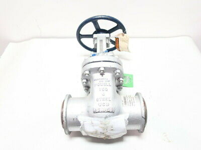 Powell 4.0 1503IC8GXXX Manual Butt Weld Wedge Gate Valve 150 4in