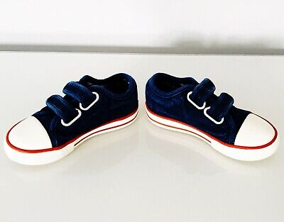 Marks & Spencer/Young Boys/Denim Sneakers/Size 6/Age 2/Barely Worn