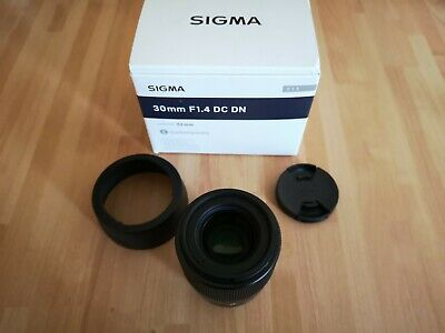 Sigma 30mm F1.4 DC DN Micro Four Thirds Lens - Brand New - Boxed Complete