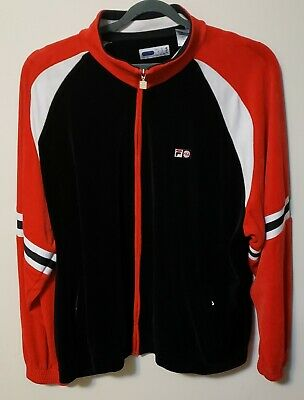 28b7b8e4 FILA CHINESE RED/BLACK/WHITE Top Down Jacket - $79.95 | PicClick