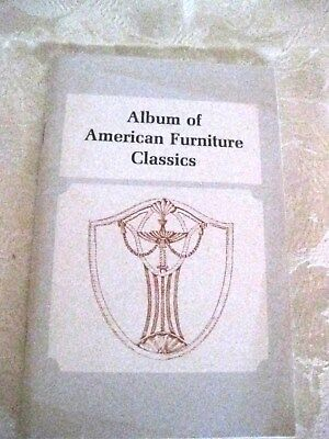 Album of American Furniture Classics, Reference Guide, Collectibles,  #CGu