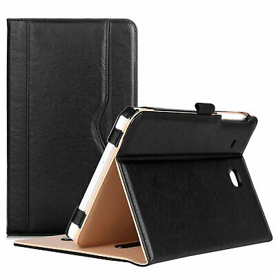 Samsung Galaxy Tab E 8.0 Case - Leather Stand Folio Cover For 4G LTE Tablet ATT)