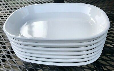 Set of 7 CORNING WARE SIDEKICK Snack Plates Tray Oven Microwave FREE SHIPPING!!!
