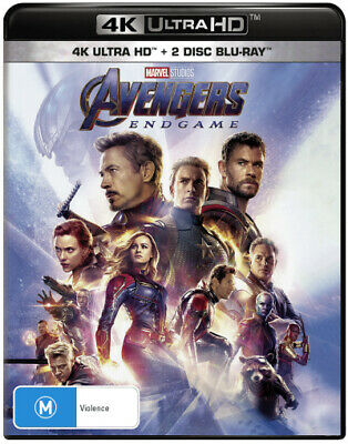 Avengers: Endgame (4K Uhd/Blu-Ray/Digital) (2019) [New Bluray]