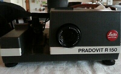 Vintage Ernst Leitz Wetzlar Pradovit R150 Slide Projector Made in Germany in box