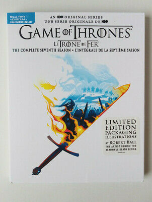 GAME Of THRONES Season 7 - BLU RAY & DIGITAL -Limited Edition PKG- NWT-SEALED