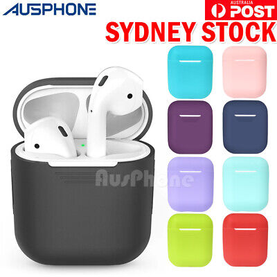 Shockproof for Apple AirPods Case Cover Skin Slim Silicone Holder Airpod Case AU