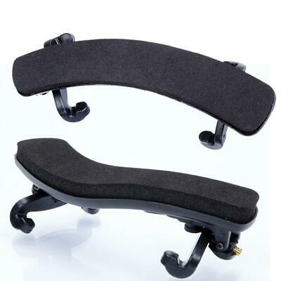 High Quality Plastic 1/8 1/4 3/4 4/4 Violin Shoulder Rest Black