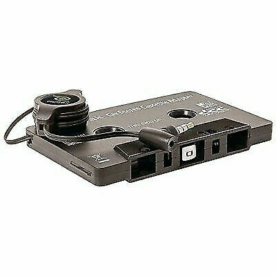 ReTrak Retractable Cassette Adapter with Microphone, Bluetooth Not Required, ...