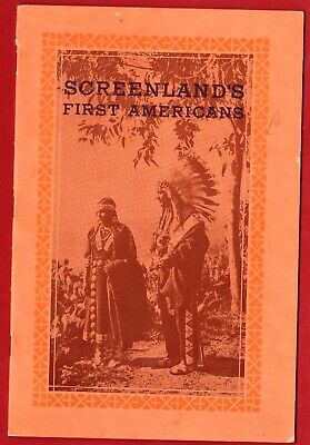 SCREENLAND'S FIRST AMERICANS 1935 APROX 11 Pgs W AUTOGRAPHED PAGE RARE ORIG PUBL